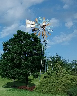 Bailey's Crossroads, Virginia - Bailey's Crossroads windmill