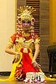 Baksa Kembang welcome dance, Aria Barito Hotel, Banjarmasin 2018-07-27 02.jpg