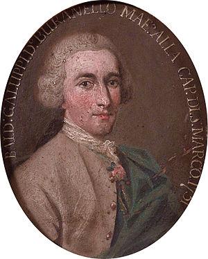 Baldassare Galuppi - Galuppi by a Venetian artist, bearing date 1751