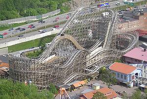 Balder (roller coaster) - Image: Balder rollercoaster