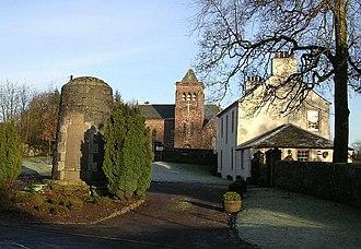 Balfron - Image: Balfron Church and War Memorial