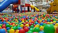 Ball pit with playground slide.jpg