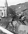 Balra a Segítő Szűzanya görög katolikus templom. Fortepan 2490.jpg