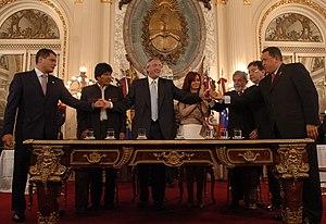 Presidentes de Ecuador (Rafael Correa), Bolivi...