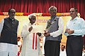Bandaru Dattatreya presenting awards to the workers, at the Vishwakarma Day -National Labour Day celebrations, organised by the Ministry of Labour & Employment, in Hyderabad.jpg