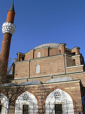 Islam in Bulgaria - The 16th-century Banya Bashi Mosque, in capital Sofia.