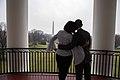 Barack and Michelle Obama on Truman Balcony 2017-01-19.jpg