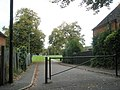 Barrier to the recreation ground in Cromwell Road - geograph.org.uk - 1549705.jpg