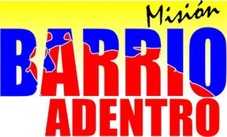 Mission Barrio Adentro - Official logo since 2004