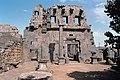 Basilica Complex, Qanawat (قنوات), Syria - East part- view through cella to interior southern façade - PHBZ024 2016 1242 - Dumbarton Oaks.jpg