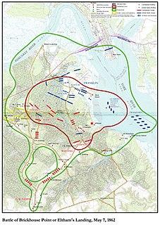 Battle of Elthams Landing Battle of the American Civil War