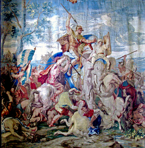 English: Battle of Gaugamela (Arbela)