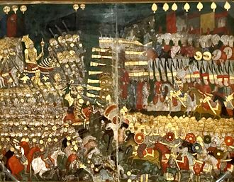 Battle of Mohács - The battle of Mohács, on an Ottoman miniature