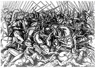 Arbëreshë people - The Battle of Torvioll in 1444 was the first confrontation between Skanderbeg's Albanians and the Ottoman Turks