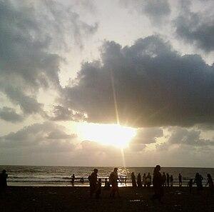 Dahanu - Beautiful Sunset at Parnaka Beach