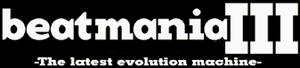 Beatmania III - Image: Beatmania III logo