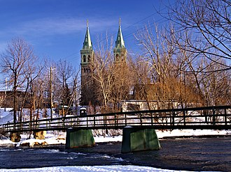 Beauharnois, Quebec - Image: Beauharnois Pont Preville