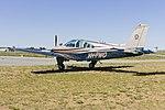 Beech E33 Bonanza (VH-FWO) at Wagga Wagga Airport.jpg