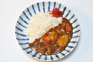 Japanese curry Japanese style curry dish