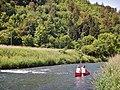 Beim 366 km langen Neckartalradweg, Neckar zwischen Sulz und Horb - panoramio (1).jpg