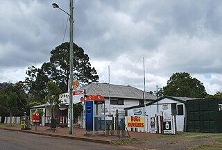 Benarkin Town in Queensland, Australia