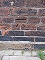 Bench mark on ^2 Minster Moorgate - geograph.org.uk - 2256475.jpg