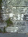 Benchmark on boundary wall of Culliford House - geograph.org.uk - 2084112.jpg