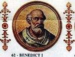 Benedict I