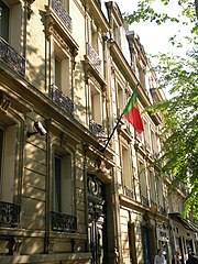 Photo of the Benin Embassy, Paris