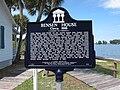 Bensen House (Grant, Florida) historical marker 001.jpg