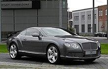 Bentley Continental GT (II) – Frontansicht (4), 30. August 2011, Düsseldorf.jpg