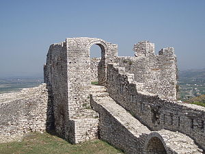 Kutmichevitsa - The Berat Castle, known during the Bulgarian rule as the Belgrad Castle was the fortress of one of the most important towns in Kutmichevitsa, Belgrad (White Town).