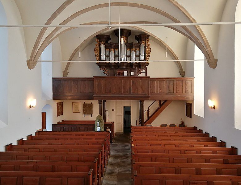 Datei:Berchum, Kirche, Orgel (5).jpg