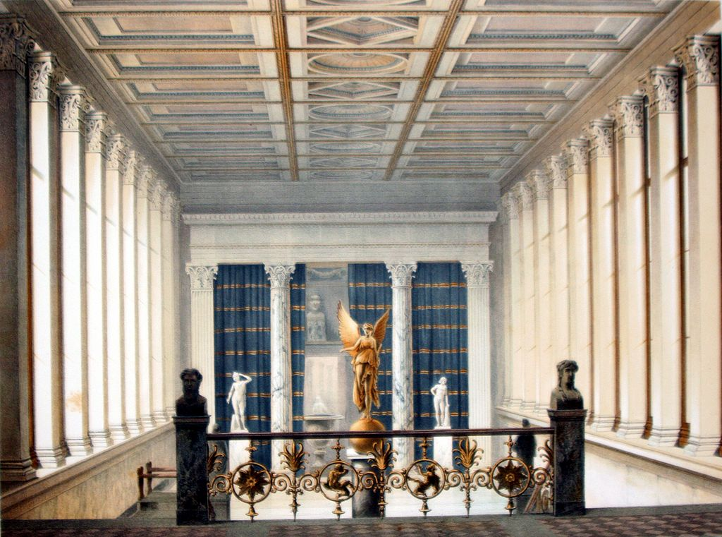Berlin Neues Museum Verbindung altes Museum