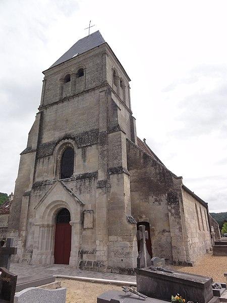 Berny-Rivière (Aisne) Église, la tour