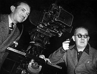 Bert Glennon - Bert Glennon and director John Ford on the set of Stagecoach (1939)