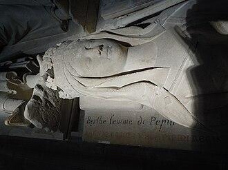 Bertrada of Laon - Tomb of Bertrada of Laon at the Saint Denis Basilica