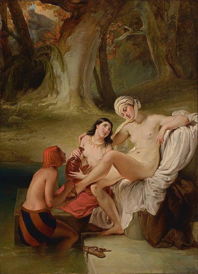 Bathsheba Bathing