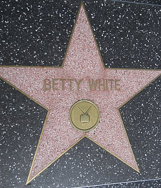 Betty White - Walk of Fame