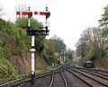 Bewdley station - signals - geograph.org.uk - 1255897.jpg
