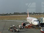 Bhopal Airport jet bridge.jpg
