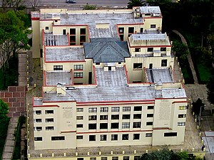 National Library of Colombia - The National Library from above