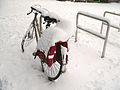 Bicycle in Amsterdam after heavy snow - 6.jpg