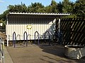 Bicycle rack, Sudbury station - geograph.org.uk - 565395.jpg