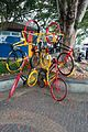 Bicycle sculpture (27232838954).jpg