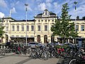 Bicycles Ahtisaari Square Oulu 20170728.jpg