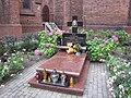Bielawa, St Mary church, burial place of F. Foks.jpg