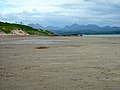 Big Sand Beach With Torridon Mountains Beyond - geograph.org.uk - 219091.jpg