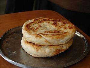 Bing (bread) - Image: Bing zi (Chinese pancakes)