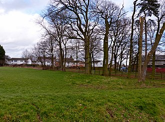 Scheduled monuments in Leicester - Birds Nest Lodge, New Parks, south east corner of the 14th century moated site